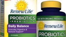 Prebiotics and Probiotics Team Up in Renew Life's First Organic Supplement