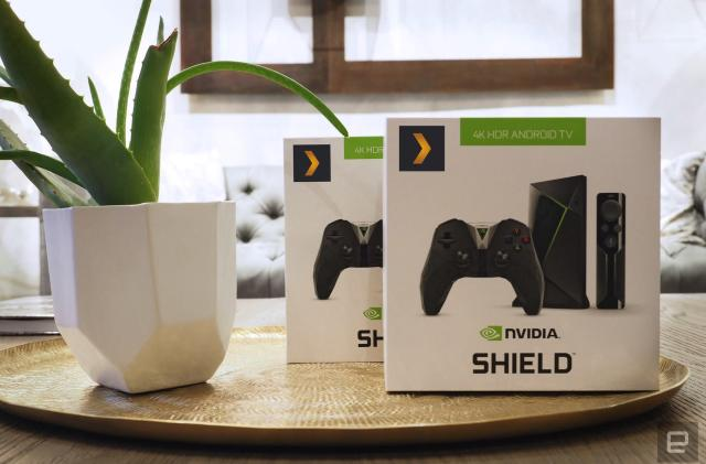 Engadget giveaway: Win a Shield TV Gaming Edition courtesy of Plex!