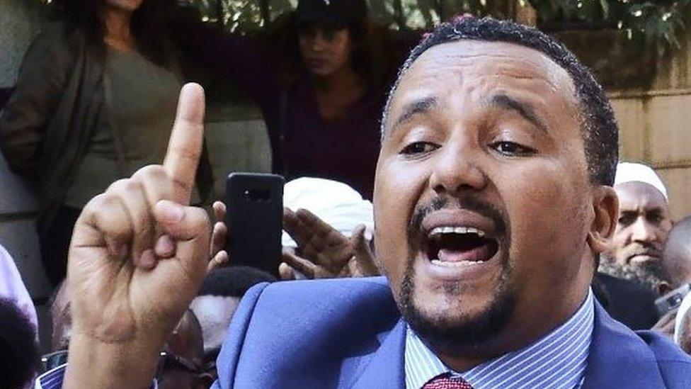 Top Ethiopia opposition figure 'proud' of terror charge