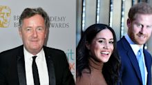 Piers Morgan accuses Meghan Markle of 'splitting' Prince Harry from Royal Family after couple's announcement