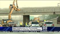 Construction Begins On Kennedy Expressway