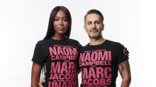 Naomi Campbell and Marc Jacobs Design T-shirt for World AIDS Day