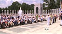 World War II Vets Make Emotional Journey To Memorial