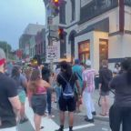 Protests outside DC bar after video of security dragging woman downstairs