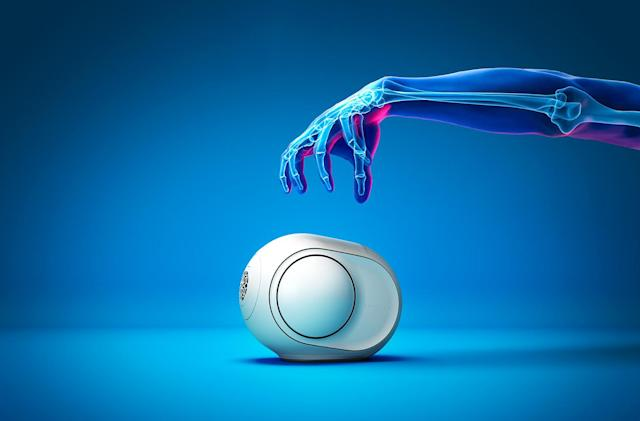Devialet shrinks its 'alien egg' speaker (and its price)