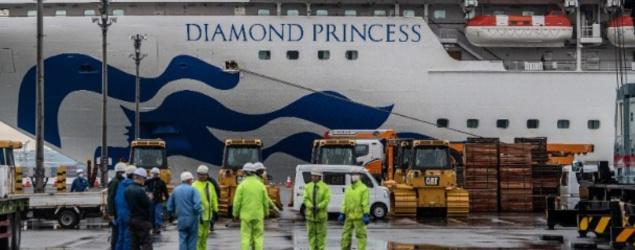 鑽石公主號累計21人染新冠肺炎 港府擬周三包機接居民