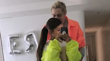 Ariana Grande and Pete Davidson Coordinate in Neon Jackets: 'Subtle Like Our Love'