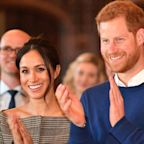 Meghan and Harry in an Anthrax Scare