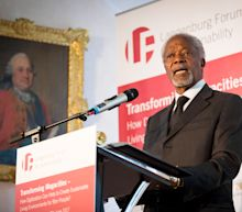 Barack Obama, Justin Trudeau and Other World Leaders Celebrate the Life of Kofi Annan