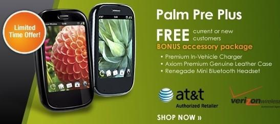 Pre Plus and Pixi Plus free on contract, with free accessories, too