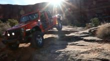 Watch Jeep J6, Gladiator Gravity and JT Scrambler concepts take to the Moab rocks