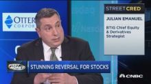 One top strategist says the market rally is at risk but there's still some buying opportunity