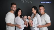 Lesbian couple welcomes babies, thanks to gay donor friends