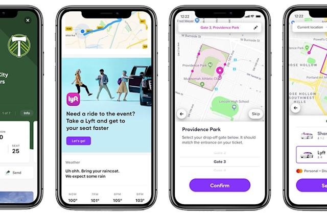 Lyft enables sloth with seat-specific stadium drop-offs