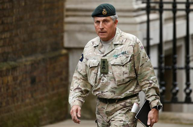 UK general says a quarter of the army could be robots by the 2030s