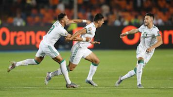 Bizarre early goal helps Algeria win AFCON title