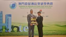 The Venetian Macao Earns Macao's First-Ever Platinum-Level Macao Green Hotel Award