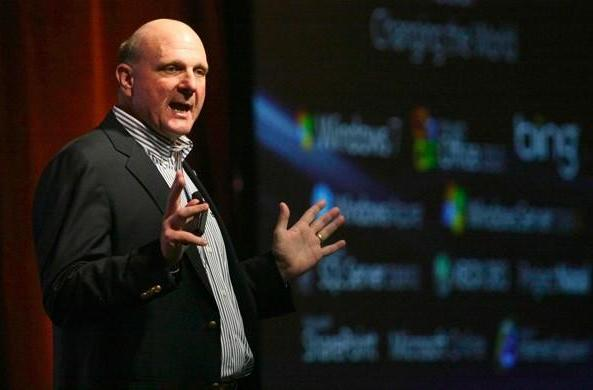Ballmer downplays Microsoft's shift in market value, says it's a 'long game'