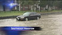 Street flooding causing trouble near UH