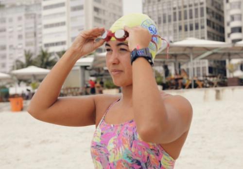 Patrícia Farias reforça o Brasil nas grandes travessias em águas abertas