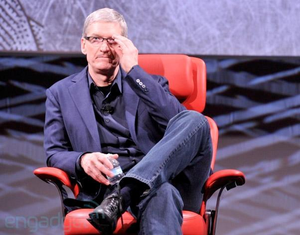 Tim Cook meets with China Mobile in Beijing