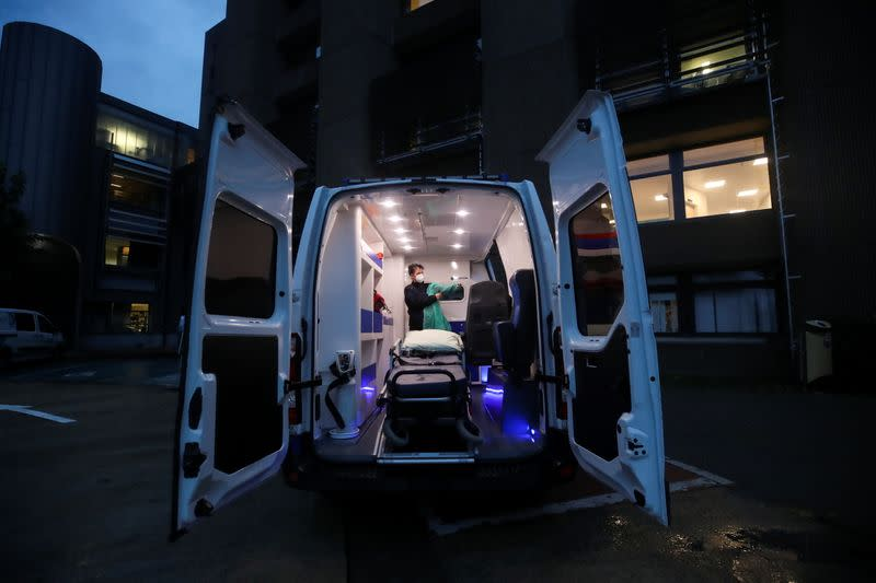 Belgian ambulance crews say they risk being overwhelmed by COVID
