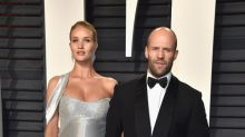 Rosie Huntington-Whiteley y Jason Statham ya son papás
