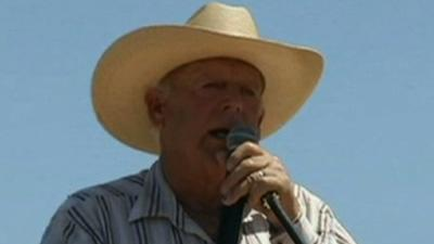 Nevada Rancher Defends Slavery Remarks