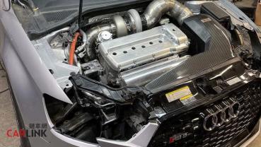 「多一缸」就是猛!Audi RS3「VR6」最強豪改版現身