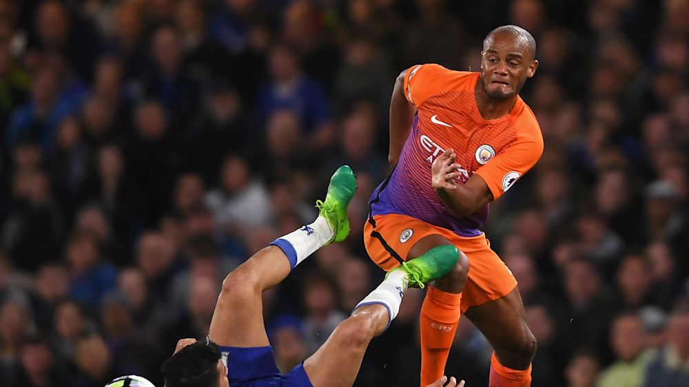 I never moaned or complained - Kompany on return from Manchester City margins