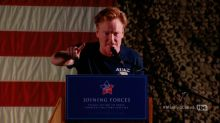 Conan Brings Laughs to Middle East Military Base
