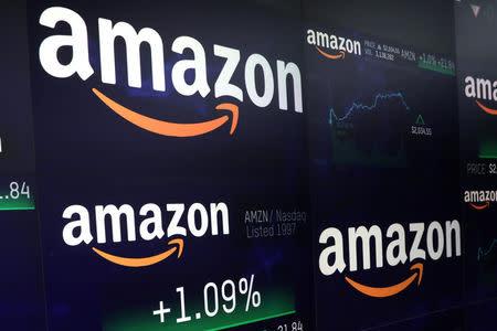 Amazon touches $1 trillion, on pace to overtake Apple