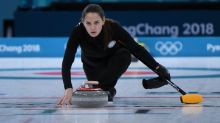 Russian curler compared to Angelina Jolie for her model looks breaks the internet