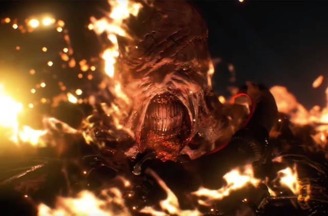 'Resident Evil 3' remake trailer shows more Nemesis
