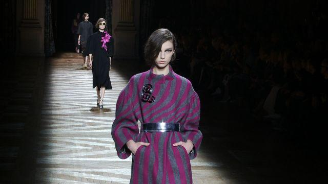 Style.com Fashion Shows - Dries Van Noten Fall 2014 Ready-to-Wear