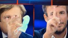 """""""Cafone"""", """"Leggi i libri di medicina"""": scontro tv Fusaro-Sileri"""