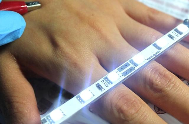 Nanofiber film could lead to electronic skin