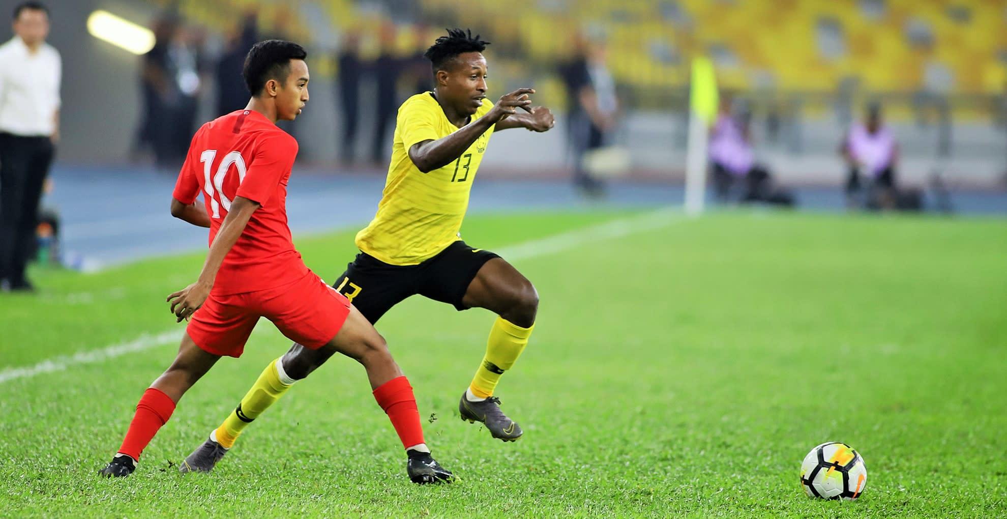 Malaysia ratings: vs Singapore