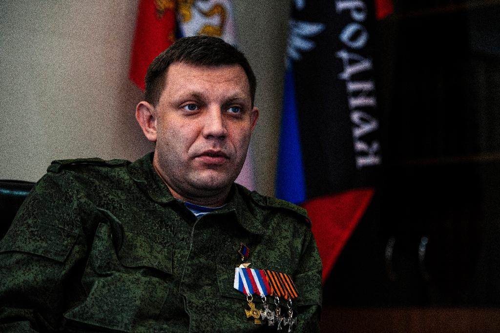 Moscow says the elections are necessary to fill the power vacuum after the leader of the Donetsk republic Alexander Zakharchenko was killed in a bombing at a Donetsk café in August (AFP Photo/DIMITAR DILKOFF)
