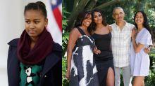 La transformación de Sasha, la hija pequeña de los Obama