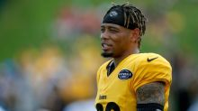 Steelers' Joe Haden shows off the suite life at Heinz Field training camp