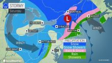 Snow to threaten slippery travel as chilly air returns to northeastern US