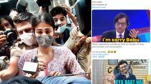 Rhea Chakraborty Arrested funny memes viral