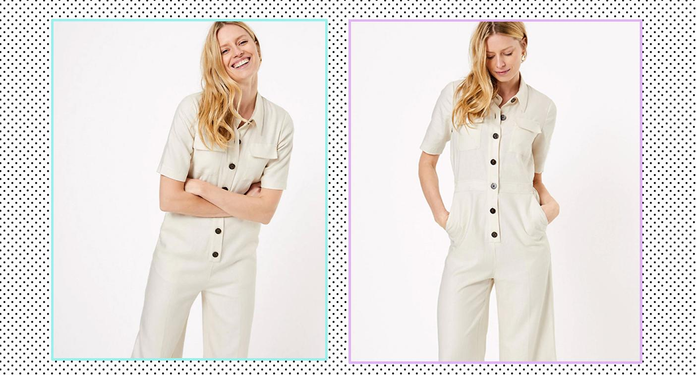 This M&S jumpsuit is the ultimate comfy everyday outfit