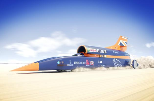 The '1,000mph' Bloodhound car is so fast it needs to be bulletproof