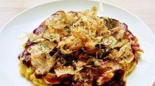 大阪燒 Okonomiyaki お好み焼き