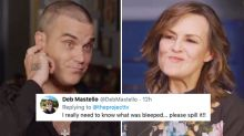 'What did he say?!': Viewers beg Lisa Wilkinson for unedited Robbie Williams chat