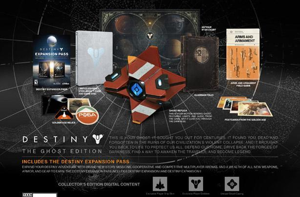 Report: Retailers limiting, canceling Destiny Ghost Edition pre-orders