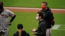 Giants, Padres to play DH after false positive virus test