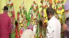 Hyderabad: Hindu family installs Tazia, observes Muharram